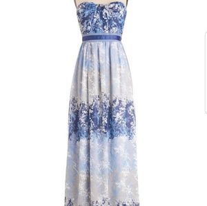 Modcloth Moonscape Melodies Maxi Dress NWT
